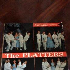 Discos de vinilo: THE PLATTERS. VOLUMEN TWO.. Lote 99130519