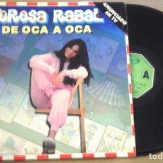 Discos de vinilo: TERESA RABAL - DE OCA EN OCA - LP MOVIEPLAY 1981. Lote 99140059