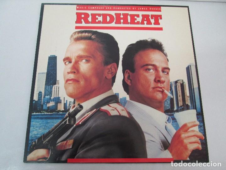 Discos de vinilo: ORIGINAL SOUNDTRACK RED HEAT. PRODUCCION JAMES HORNER. LP VINILO. VIRGIN 1988. VER FOTOGRAFIAS - Foto 2 - 99153183