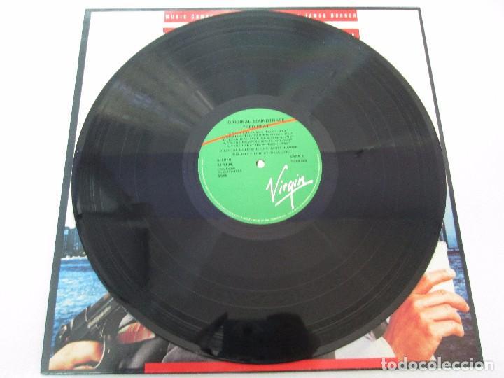 Discos de vinilo: ORIGINAL SOUNDTRACK RED HEAT. PRODUCCION JAMES HORNER. LP VINILO. VIRGIN 1988. VER FOTOGRAFIAS - Foto 3 - 99153183