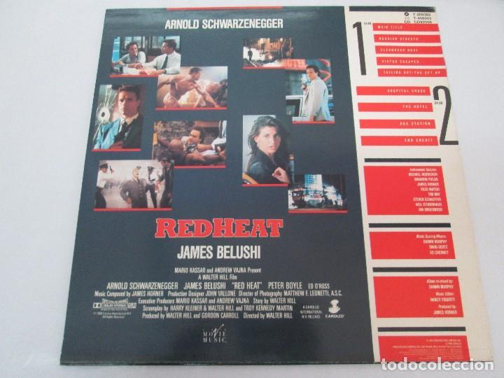 Discos de vinilo: ORIGINAL SOUNDTRACK RED HEAT. PRODUCCION JAMES HORNER. LP VINILO. VIRGIN 1988. VER FOTOGRAFIAS - Foto 8 - 99153183