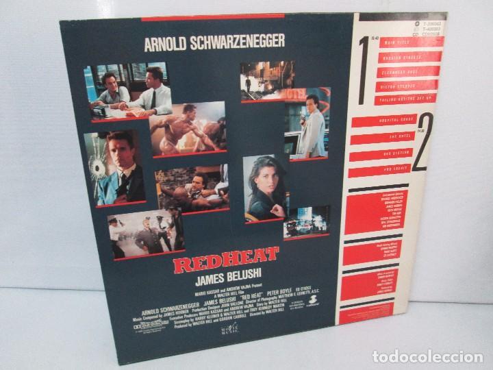 Discos de vinilo: ORIGINAL SOUNDTRACK RED HEAT. PRODUCCION JAMES HORNER. LP VINILO. VIRGIN 1988. VER FOTOGRAFIAS - Foto 9 - 99153183