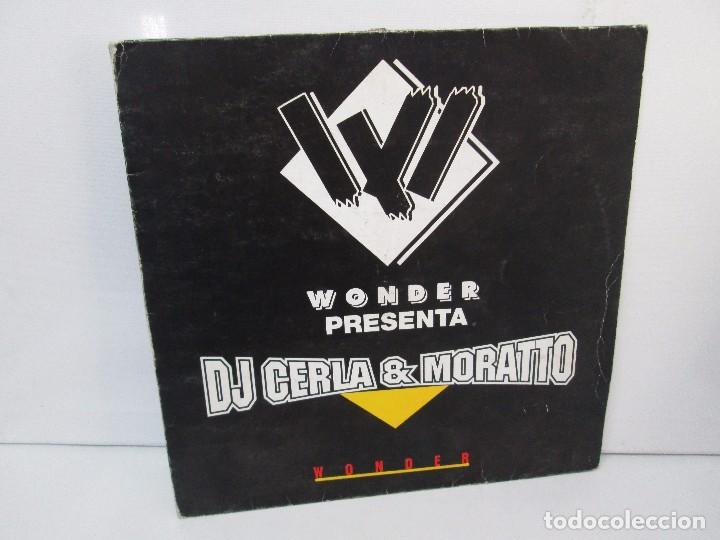 WONDER PRESENTA DJ CERLA AND MORATTO. LP VINILO. BLANCO Y NEGRO 1965. VER FOTOGRAFIAS (Música - Discos - Singles Vinilo - Electrónica, Avantgarde y Experimental)