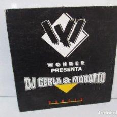 Discos de vinilo: WONDER PRESENTA DJ CERLA AND MORATTO. LP VINILO. BLANCO Y NEGRO 1965. VER FOTOGRAFIAS. Lote 99154311