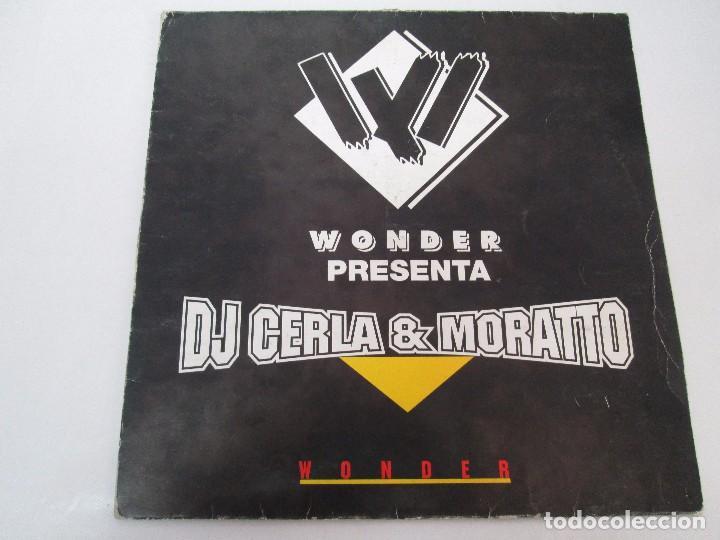 Discos de vinilo: WONDER PRESENTA DJ CERLA AND MORATTO. LP VINILO. BLANCO Y NEGRO 1965. VER FOTOGRAFIAS - Foto 2 - 99154311
