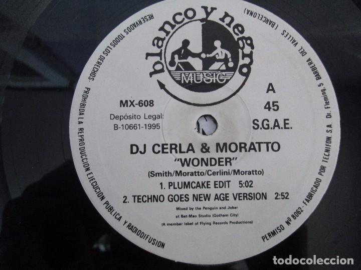 Discos de vinilo: WONDER PRESENTA DJ CERLA AND MORATTO. LP VINILO. BLANCO Y NEGRO 1965. VER FOTOGRAFIAS - Foto 6 - 99154311
