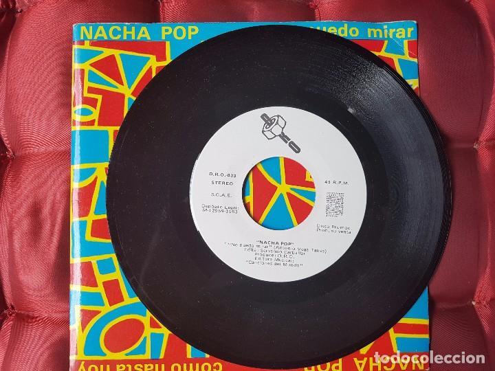 Discos de vinilo: Nacha pop vinilo .No puedo mirar. - Foto 3 - 99166499