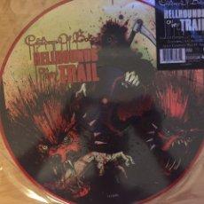 Discos de vinilo: PICTURE DISC CHILDREN OF BODOM. HELLHOUNDS ON MY TRAIL. EDICIÓN LIMITADA. ALICE COOPER. Lote 99174428