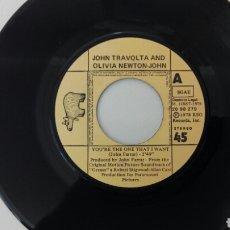 Discos de vinilo: JOHN TRAVOLTA AND OLIVIA NEWTON JOHN 1978 GREASE. Lote 99174627