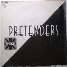 Discos de vinilo: PRETENDERS ''BRASS IN POCKET'' DEL AÑO 1980 ES UN SINGLE ESPAÑA. Lote 99182443