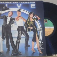Discos de vinilo: THE MANHATTAN TRANSFER LP WEA 1983 VINILO NUEVO. Lote 99185711