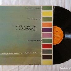 Discos de vinilo: XAVIER RIBALTA, A L'OLYMPIA (RCA) LP - ENCARTE. Lote 99195543