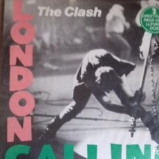 Discos de vinilo: THE CLASH 2LP LONDON CALLING U.K 1979 COMPLETO. Lote 99196167