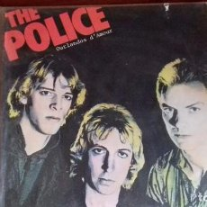 Discos de vinilo: THE POLICE - OUTLANDOS DÁMOUR - 1979 1 ED ESPAÑOLA NUEVO. Lote 99196315
