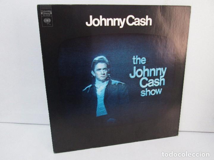 JOHNNY CASH. THE JOHNNY CASH SHOW. LP VINILO, COLUMBIA RECORDS. VER FOTOGRAFIAS ADJUNTAS (Música - Discos - Singles Vinilo - Country y Folk)