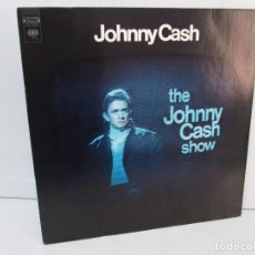 Discos de vinilo: JOHNNY CASH. THE JOHNNY CASH SHOW. LP VINILO, COLUMBIA RECORDS. VER FOTOGRAFIAS ADJUNTAS. Lote 99197043