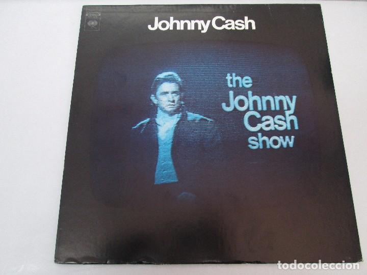 Discos de vinilo: JOHNNY CASH. THE JOHNNY CASH SHOW. LP VINILO, COLUMBIA RECORDS. VER FOTOGRAFIAS ADJUNTAS - Foto 2 - 99197043