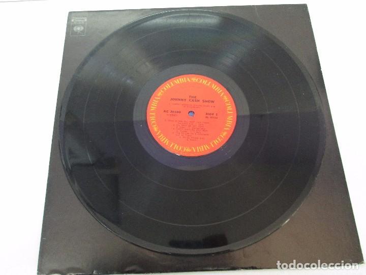 Discos de vinilo: JOHNNY CASH. THE JOHNNY CASH SHOW. LP VINILO, COLUMBIA RECORDS. VER FOTOGRAFIAS ADJUNTAS - Foto 3 - 99197043