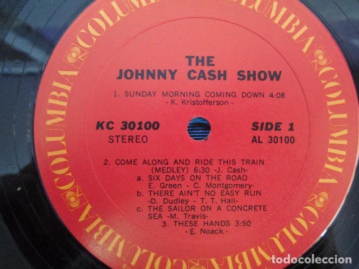 Discos de vinilo: JOHNNY CASH. THE JOHNNY CASH SHOW. LP VINILO, COLUMBIA RECORDS. VER FOTOGRAFIAS ADJUNTAS - Foto 4 - 99197043