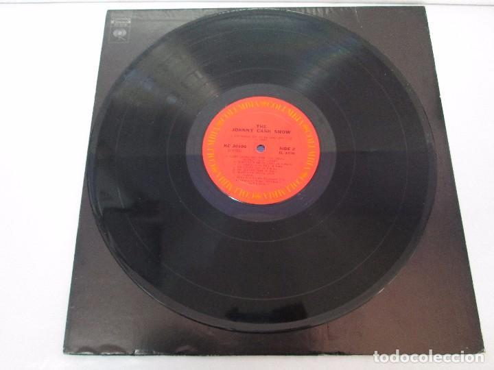 Discos de vinilo: JOHNNY CASH. THE JOHNNY CASH SHOW. LP VINILO, COLUMBIA RECORDS. VER FOTOGRAFIAS ADJUNTAS - Foto 5 - 99197043