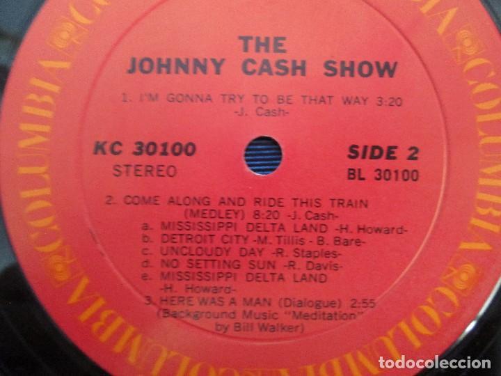 Discos de vinilo: JOHNNY CASH. THE JOHNNY CASH SHOW. LP VINILO, COLUMBIA RECORDS. VER FOTOGRAFIAS ADJUNTAS - Foto 6 - 99197043