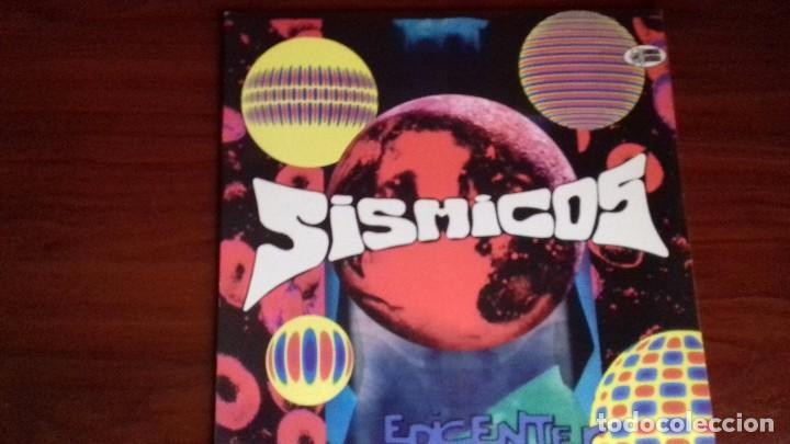 SISMICOS - EPICENTER - LP - ANIMAL RECORDS 1995 SPAIN - MINT (Música - Discos - Singles Vinilo - Grupos Españoles de los 90 a la actualidad)