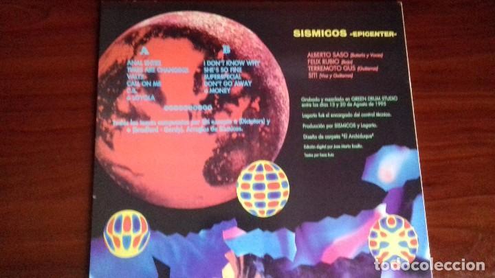 Discos de vinilo: SISMICOS - EPICENTER - LP - ANIMAL RECORDS 1995 SPAIN - MINT - Foto 3 - 99199003