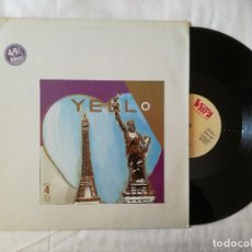 Discos de vinilo: YELLO, BOSTICH +4 (VICTORIA) MAXI SINGLE ESPAÑA. Lote 99204811