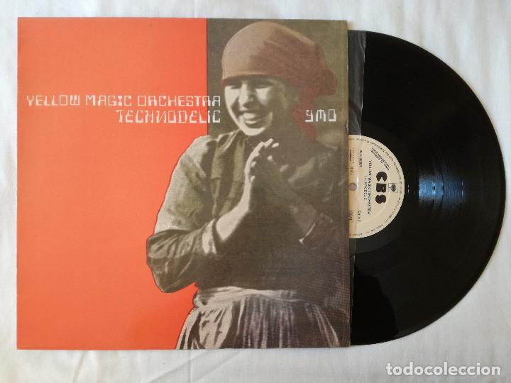 YELLOW MAGIC ORCHESTRA, TECHNODELIC (CBS) LP PROMOCIONAL ESPAÑA - YMO (Música - Discos - LP Vinilo - Pop - Rock - New Wave Extranjero de los 80)