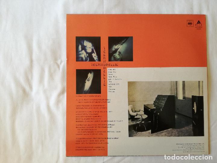 Discos de vinilo: YELLOW MAGIC ORCHESTRA, TECHNODELIC (CBS) LP PROMOCIONAL ESPAÑA - YMO - Foto 2 - 99205139