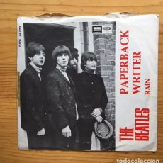 Discos de vinilo: DISCO SINGLE THE BEATLES, PAPERBACK....... Lote 99205319