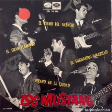 Discos de vinilo: LOS MUNSTANG VERSIONES SUBMARINO AMARILLO THE BEATLES PAUL SIMONS.... Lote 99205603