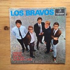 Discos de vinilo: DISCO SINGLE LOS BRAVOS, SYMPATHY ......... Lote 99205799