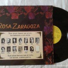 Discos de vinilo: ROSA ZARAGOZA, LES NENES BONES VAN AL CEL LES DOLENTES A TOT ARREU (SAGA) LP - DOBLE ENCARTE. Lote 99218251