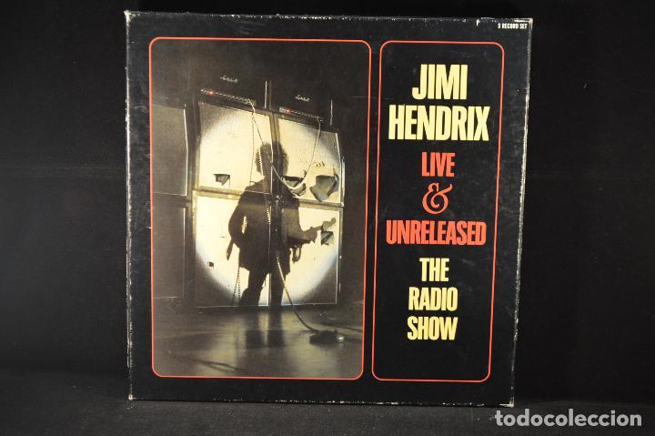 JIMI HENDRIX - LIVE & UNRELEASED THE RADIO SHOW - 5 LP BOX SET (Música - Discos - LP Vinilo - Pop - Rock - Extranjero de los 70)