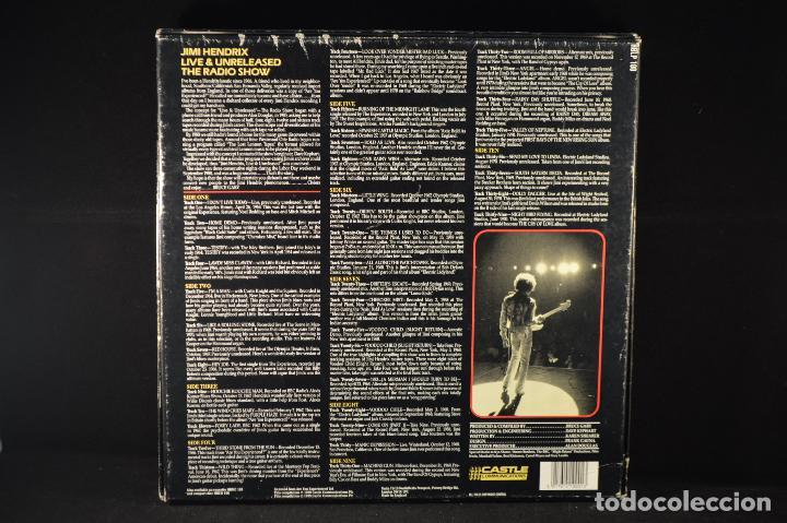 Discos de vinilo: Jimi Hendrix - Live & Unreleased The Radio Show - 5 LP BOX SET - Foto 2 - 99218695
