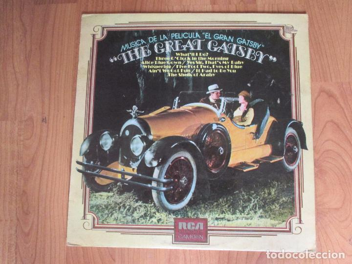 Discos de vinilo: THE GREAT GATSBY - BANDA SONORA - RCA - SPAIN - T - - Foto 1 - 99218855