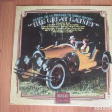 Discos de vinilo: THE GREAT GATSBY - BANDA SONORA - RCA - SPAIN - T - . Lote 99218855
