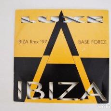 Discos de vinilo: MAXI. VINILO - LUXE IBIZA - TOP SECRET RECORDS 1997. Lote 99220103