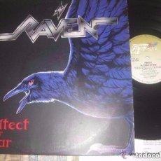 Discos de vinilo: RAVEN ARCHITECT OF FEAR (STEM HAMMER 1991) OG GERMANY. Lote 99222371