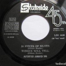 Discos de vinilo: PRINCE BUSTER - EP SPAIN - AUTENTICO JAMAICA SKA - 30 PIECES OF SILVER. Lote 99224983