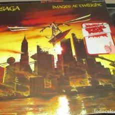 Discos de vinilo: SAGA - IMAGES AT TWILIGHT LP 1979. Lote 99226215