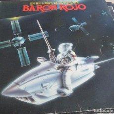 Discos de vinilo: LP - BARON ROJO - EN UN LUGAR DE LA MARCHA -CHAPA DISCOS 1985 - CON ENCARTE. Lote 99226883