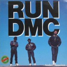 Discos de vinilo: LP RUN DMC THOUGHER THAN LEATHER 180 GRS NUEVO PRECINTADO. Lote 99228855