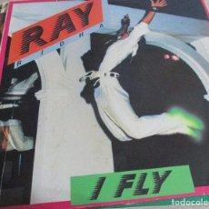 Discos de vinilo: RAY RIDHA – I FLY - MAXI -SINGLE ITALO 1986. Lote 99228859