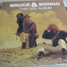 Discos de vinilo: BRUCE & BONGO - THE GEIL ALBUM - 1986 LP 33 - ITALO-EURO DISCO. Lote 99229023
