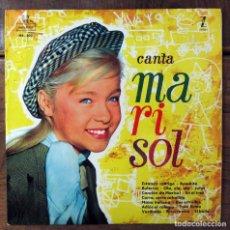 Discos de vinilo: CANTA MARISOL - CANCIONES DE UN RAYO DE LUZ Y HA LLEGADO UN ANGEL - 1961 - AUGUSTO ALGUERO. Lote 99237071