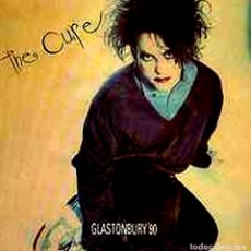 Discos de vinilo: LP - THE CURE - GLASTONBURY'90 - LP DE VINILO, EN DIRECTO, SUPER RARISIMO, COLECCIONISMO.. Lote 99250107