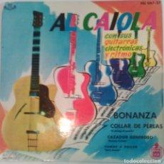 Discos de vinil: AL CAIOLA - BONANZA - 1961 - HISPA VOX. Lote 99251727