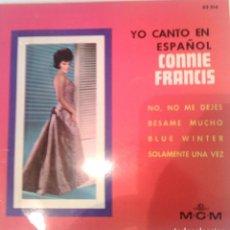Discos de vinilo: CONNIE FRANCIS - NO, NO ME DEJES - 1964 MGM. Lote 99253999